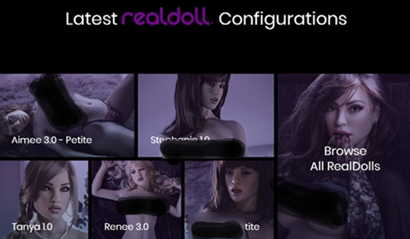 RealDoll Website