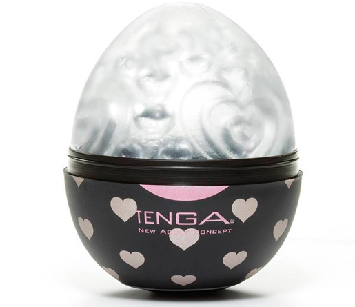 Tenga Egg Heart Textured