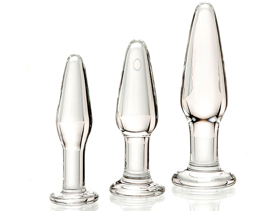 Glass Anal Training Trio
